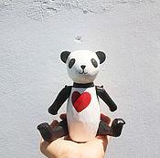 """Куклы и игрушки ручной работы. Ярмарка Мастеров - ручная работа Мишка """"Панда"""". Handmade."""