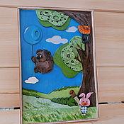 Картины и панно handmade. Livemaster - original item Volume picture of plywood