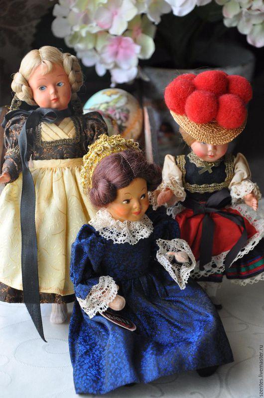 Винтажные куклы и игрушки. Ярмарка Мастеров - ручная работа. Купить Винтажные куколки. Handmade. Винтажные куклы, пластик
