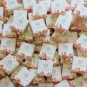 Свадебный салон ручной работы. Ярмарка Мастеров - ручная работа Свадебная Бонбоньерка Б-56. Handmade.