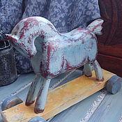 Для дома и интерьера ручной работы. Ярмарка Мастеров - ручная работа Лошадка интерьерная. Handmade.