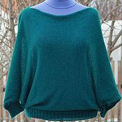 Одежда handmade. Livemaster - original item Mohair jumper with a neck