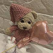 Мягкие игрушки ручной работы. Ярмарка Мастеров - ручная работа Мягкие игрушки: плюшевые мишки, Амигуруми. Handmade.