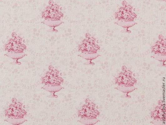 Шитье ручной работы. Ярмарка Мастеров - ручная работа. Купить арт. 480577 Tilda Ткань ВЕНЕЦИЯ РОЗОВЫЙ. Handmade.