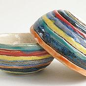 Посуда ручной работы. Ярмарка Мастеров - ручная работа Пиала «Ямайка». Handmade.