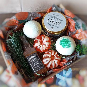Сувениры и подарки ручной работы. Ярмарка Мастеров - ручная работа Подарки: новогодние наборы. Handmade.