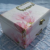 Для дома и интерьера handmade. Livemaster - original item Jewelry box Tenderness. Handmade.
