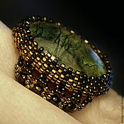 Украшения handmade. Livemaster - original item ring with a coil. Handmade.