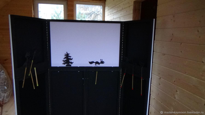 Ширма-трансформер гастрольная 1 экран для театра теней, Кукольный театр, Королев,  Фото №1