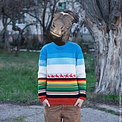 """Одежда ручной работы. Ярмарка Мастеров - ручная работа Свитер """"Малевич-2"""". Handmade."""