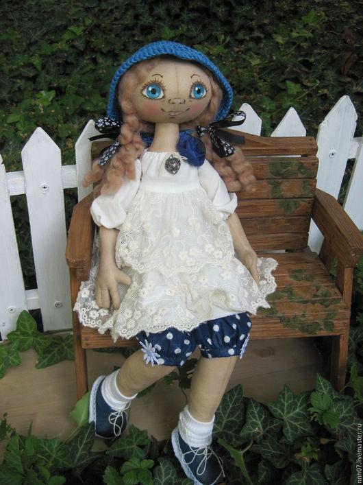 Куклы тыквоголовки ручной работы. Ярмарка Мастеров - ручная работа. Купить Авторская текстильная кукла Полина. Handmade. Авторская кукла