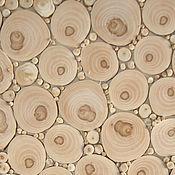 Картины и панно ручной работы. Ярмарка Мастеров - ручная работа Панно из спилов яблони. Handmade.
