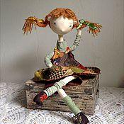 Куклы и игрушки ручной работы. Ярмарка Мастеров - ручная работа Пеппита  .  Интерьерная кукла. Handmade.