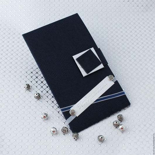 № 1 Портмоне  синий