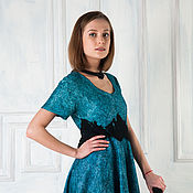 Одежда handmade. Livemaster - original item Felted dress Palace coups. Handmade.