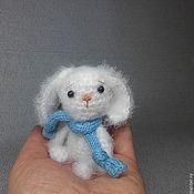 Куклы и игрушки ручной работы. Ярмарка Мастеров - ручная работа Зайка вязаный  Стёпка - растрёпка)). Handmade.