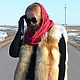 Vest of red Fox Siberian. Whole plate. Vests. Zimma. Online shopping on My Livemaster.  Фото №2