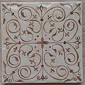 Камины ручной работы. Ярмарка Мастеров - ручная работа Плитка с обережным орнаментом. Handmade.