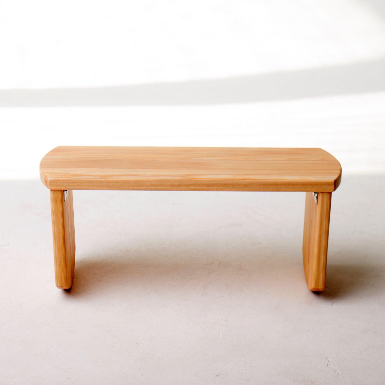 Скамейка складная для медитации из лиственницы, Медитация, Москва, Фото №1