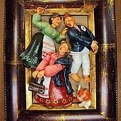 """Картины и панно ручной работы. Ярмарка Мастеров - ручная работа """" Почти готов!"""". Handmade."""