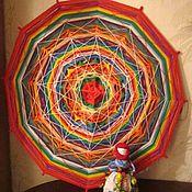 Подарки к праздникам ручной работы. Ярмарка Мастеров - ручная работа мандала на благополучие. Handmade.