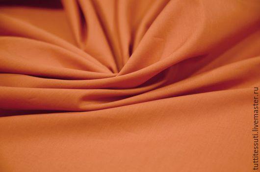 Шитье ручной работы. Ярмарка Мастеров - ручная работа. Купить Блузочная ткань 12-300-0133. Handmade. Рыжий