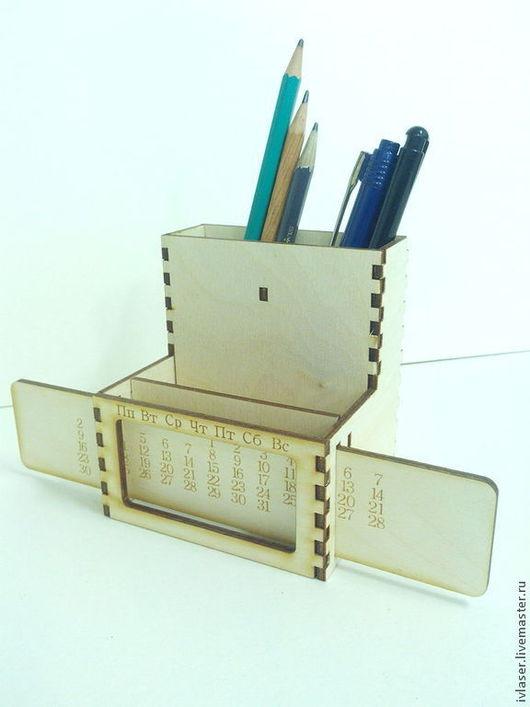 IVL-802-3 Вечный календарь заготовка для декупажа и росписи Заготовка из фанеры 3 мм