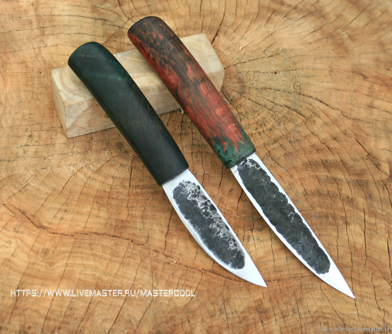 смотреть фото ножей с рукоятью на резьбе украшении