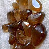 Материалы для творчества handmade. Livemaster - original item Citrine natural (medium,small tumbling -2 grade) Kazakhstan( Kurali). Handmade.