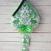 Для дома и интерьера handmade. Livemaster - original item Pendant Hut-clocks. Handmade.