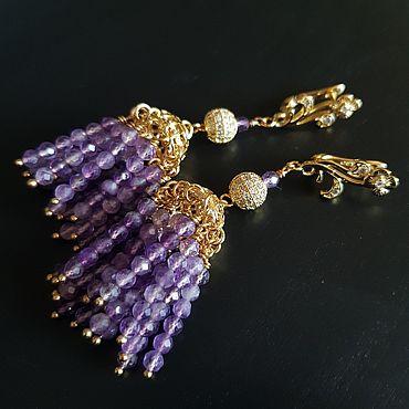 Decorations handmade. Livemaster - original item earrings: A dream come true. Handmade.