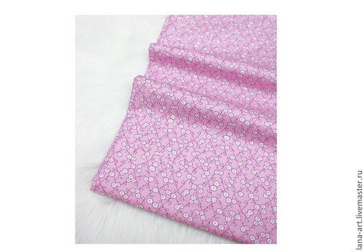 Шитье ручной работы. Ярмарка Мастеров - ручная работа. Купить Корейский хлопок Blossom розово-сиреневый. Handmade. Корейский хлопок
