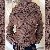 Одежда handmade. Livemaster - original item Knitted sweater from the collection of