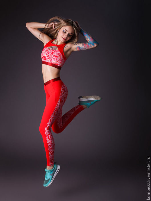 Спортивная одежда ручной работы. Ярмарка Мастеров - ручная работа. Купить HOT RED. Handmade. Спортивная одежда, одежда для спорта