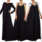 Одежда handmade. Livemaster - original item Black jumpsuit, Summer jumpsuit -