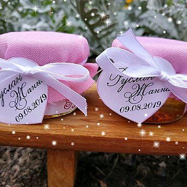 Свадебный салон ручной работы. Ярмарка Мастеров - ручная работа Бонбоньерки медовые. Handmade.