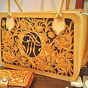 Сумки и аксессуары handmade. Livemaster - original item Women`s casual leather bag. Handmade.