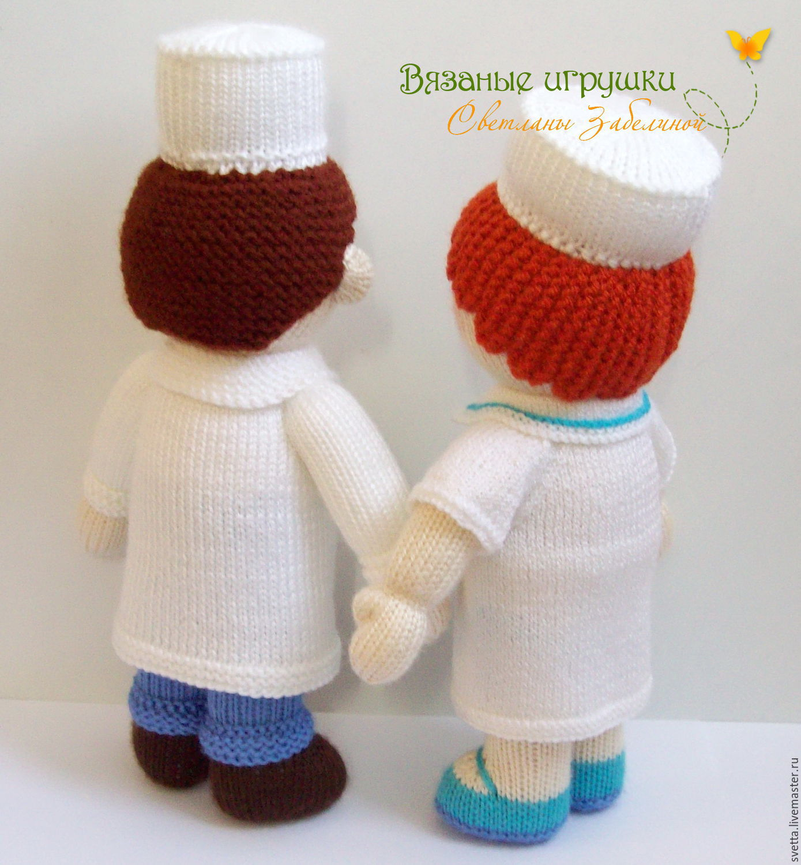 схема вязания кукол спицами мастер-класс