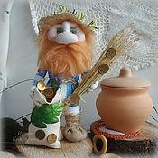 Куклы и игрушки ручной работы. Ярмарка Мастеров - ручная работа ДОМОВОЙ ДЕД,  кукла-оберег для дома. Handmade.
