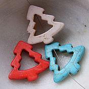 Материалы для творчества ручной работы. Ярмарка Мастеров - ручная работа Елки, говлит, цветные. Handmade.