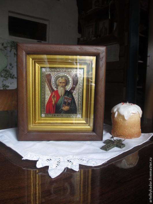 Быт ручной работы. Ярмарка Мастеров - ручная работа. Купить Киот липа, дуб (Для примера). Handmade. Киот, православие