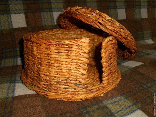Тарелки ручной работы. Ярмарка Мастеров - ручная работа. Купить плетенка для хранения тарелок. Handmade. Хранение вещей, бежевый, пва