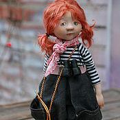 Куклы и игрушки ручной работы. Ярмарка Мастеров - ручная работа Внучка капитана Флинта. Handmade.