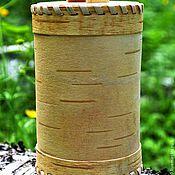 Для дома и интерьера handmade. Livemaster - original item The baskets clean of bark. Bank for tea, salt, sugar, cereals. Handmade.