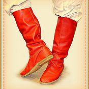 Обувь ручной работы. Ярмарка Мастеров - ручная работа САПОГИ. Модель 1 (Мужские).. Handmade.