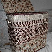 Для дома и интерьера handmade. Livemaster - original item Laundry basket wicker. Handmade.