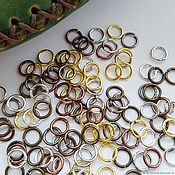 Материалы для творчества handmade. Livemaster - original item Split rings for jewelry. Handmade.