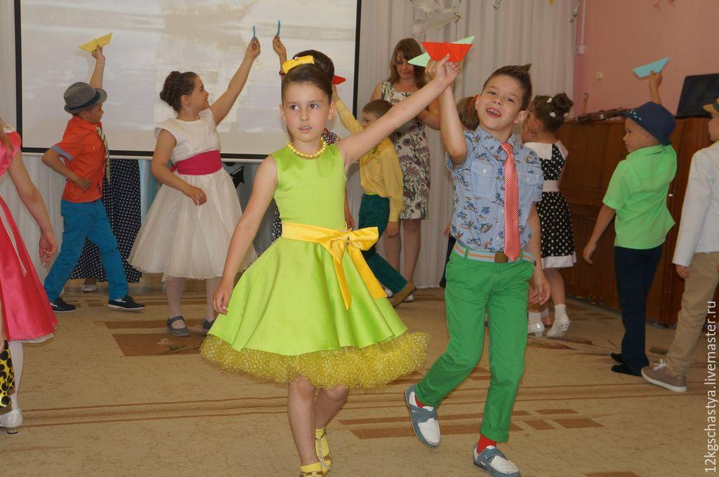 Платье стиляги для девочек своими руками 497