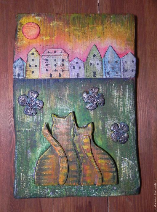 Персональные подарки ручной работы. Ярмарка Мастеров - ручная работа. Купить Панно на дереве. Handmade. Деревянный сувенир, необычный сувенир