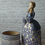 Шпагатна кукла-шкатулка